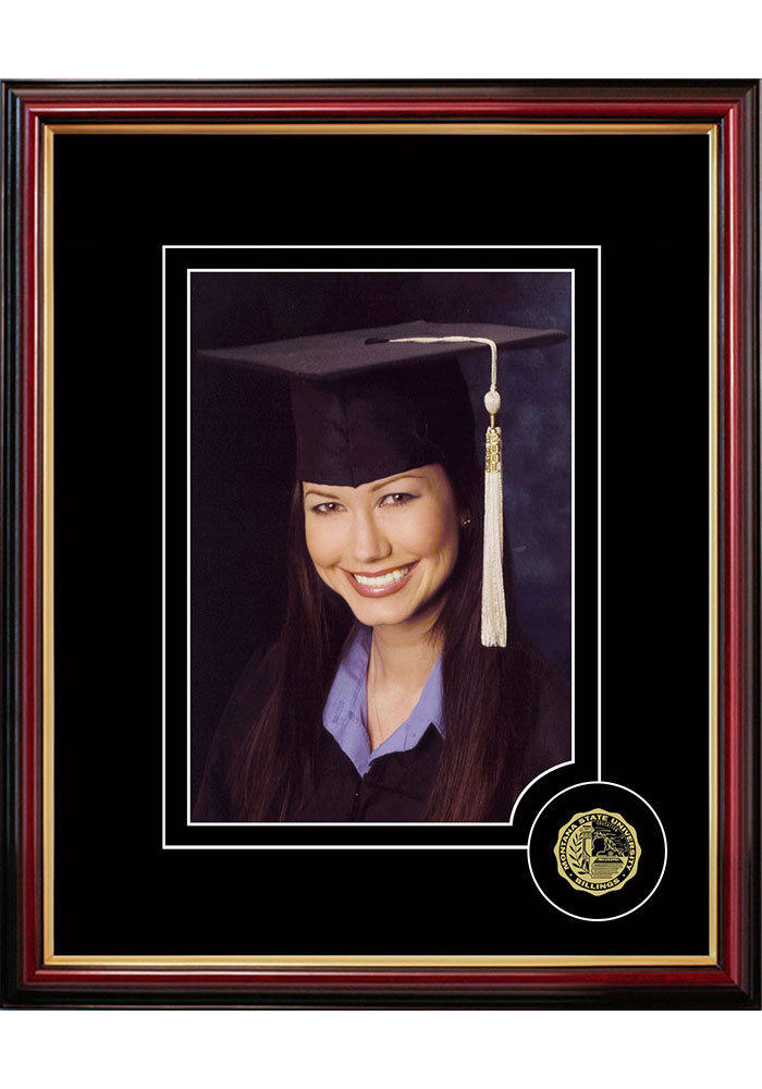 Montana State Bobcats 5x7 Graduate Picture Frame - Image 1