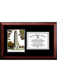 NC State Wolfpack Diplomate and Campus Lithograph Picture Frame