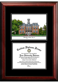 Nevada Wolf Pack Diplomate and Campus Lithograph Picture Frame