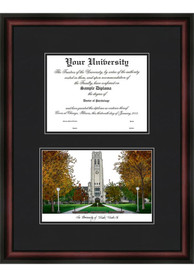 Toledo Rockets Diplomate and Campus Lithograph Picture Frame