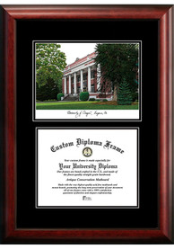 Oregon Ducks Diplomate and Campus Lithograph Picture Frame