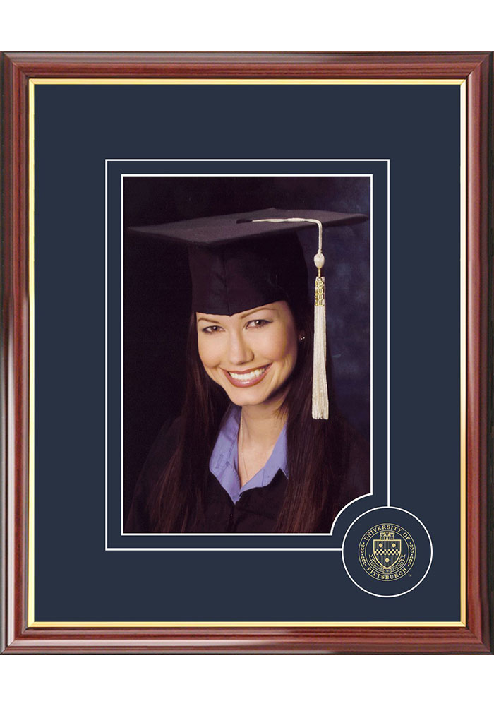 Pitt Panthers 5x7 Graduate Picture Frame - Image 1