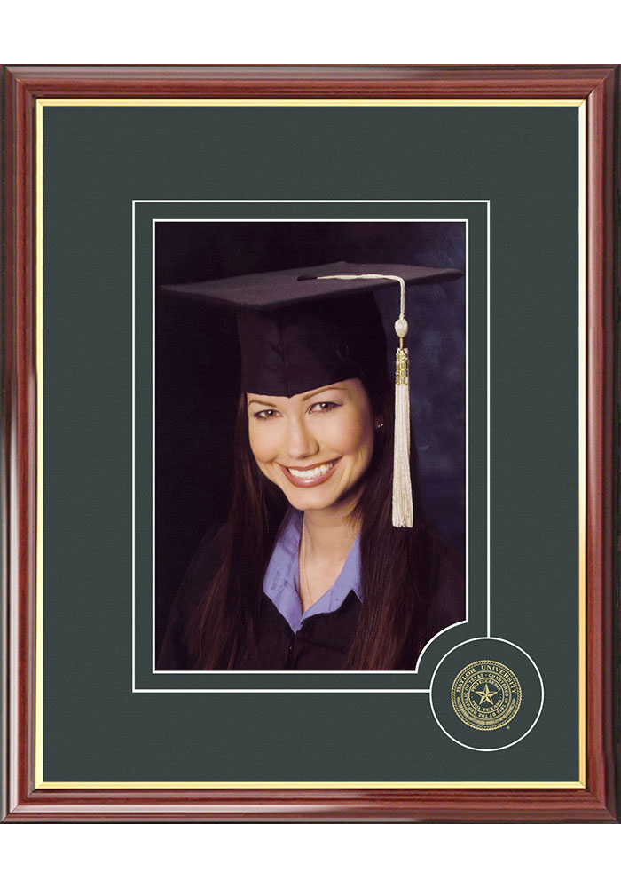 Baylor Bears 5x7 Graduate Picture Frame - Image 1