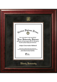 Liberty Flames Diplomate and Campus Lithograph Picture Frame