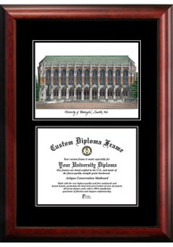 Old Dominion Monarchs Diplomate and Campus Lithograph Picture Frame