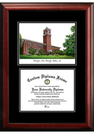 Washington Huskies Diplomate and Campus Lithograph Picture Frame