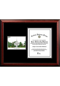 Washington State Cougars Diplomate and Campus Lithograph Picture Frame