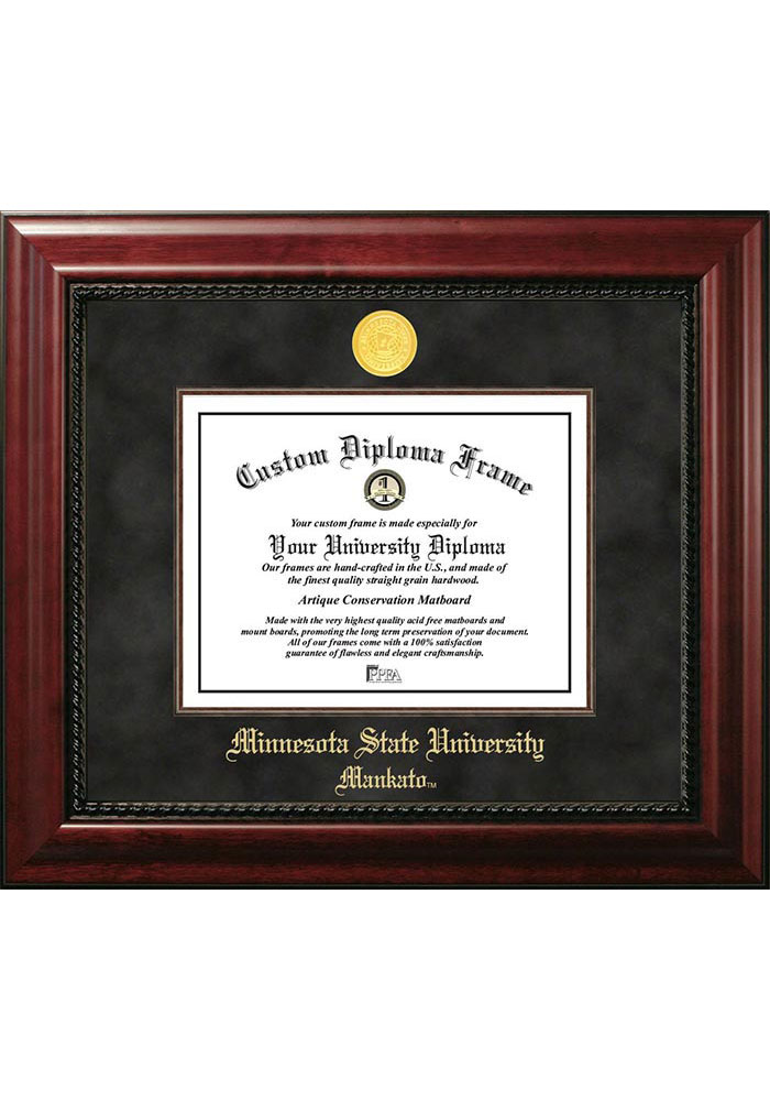 Minnesota State Mavericks Executive Diploma Picture Frame - Image 1