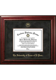 UTEP Miners Executive Diploma Picture Frame