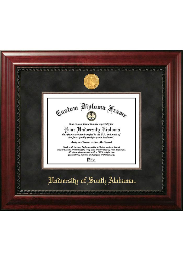 South Alabama Jaguars Executive Diploma Picture Frame - Image 1