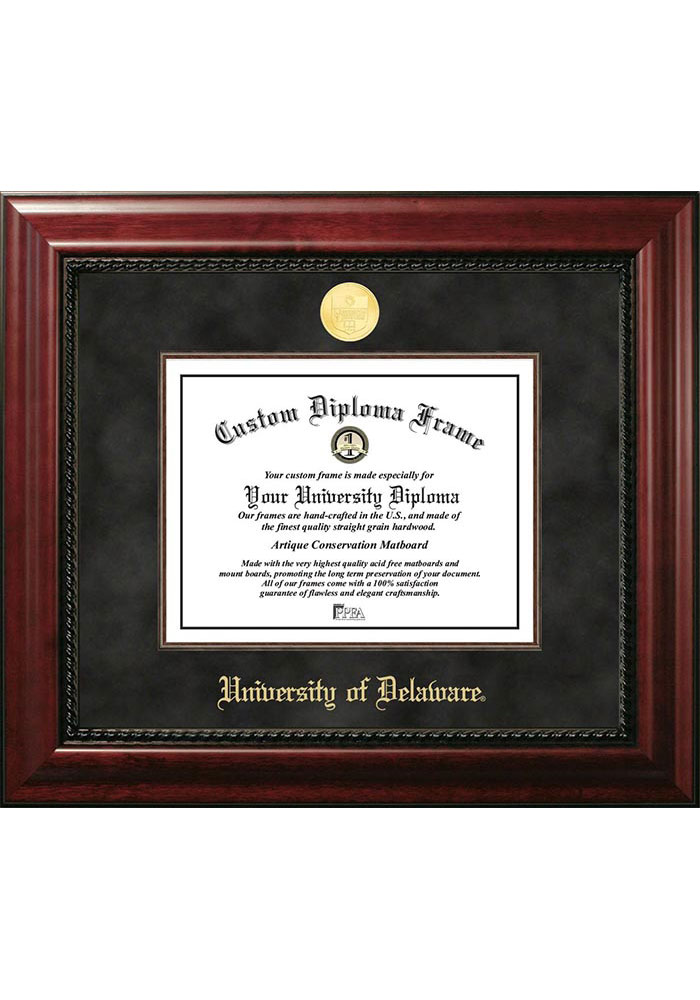 Delaware Fightin' Blue Hens Executive Diploma Picture Frame - Image 1