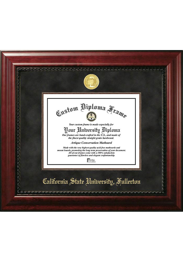 Cal State Fullerton Titans Executive Diploma Picture Frame - Image 1