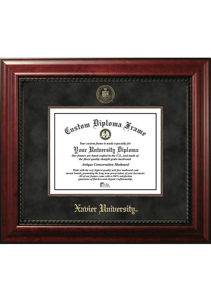 Xavier Musketeers Executive Diploma Picture Frame - Image 1
