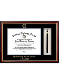North Carolina Tar Heels Tassel Box Diploma Picture Frame