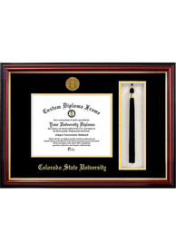 Colorado State Rams Tassel Box Diploma Picture Frame