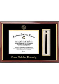 TCU Horned Frogs Tassel Box Diploma Picture Frame