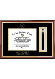 Nicholls State Colonels Tassel Box Diploma Picture Frame