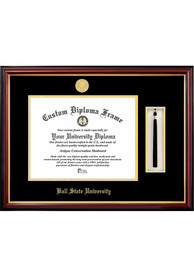Ball State Cardinals Tassel Box Diploma Picture Frame