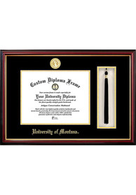 Montana Grizzlies Tassel Box Diploma Picture Frame