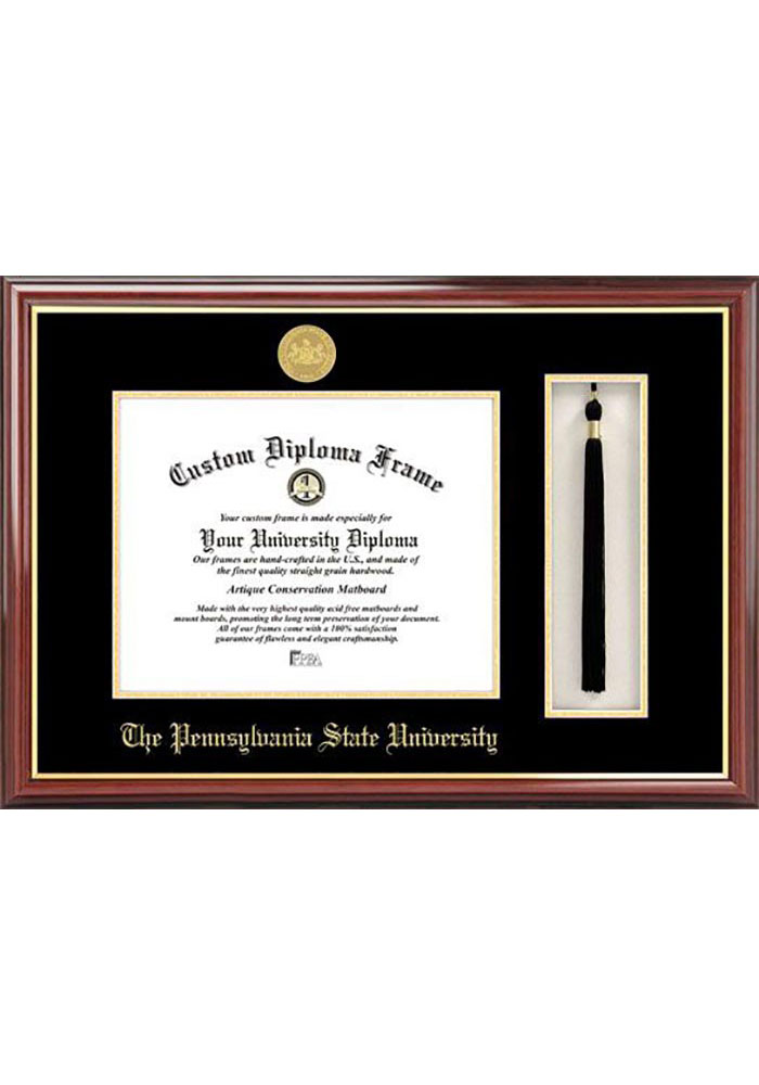 Penn State Nittany Lions Tassel Box Diploma Picture Frame - Image 1