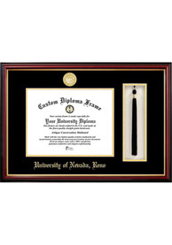 Nevada Wolf Pack Tassel Box Diploma Picture Frame