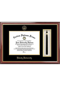 Liberty Flames Tassel Box Diploma Picture Frame
