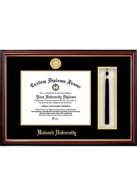 Howard Bison Tassel Box Diploma Picture Frame