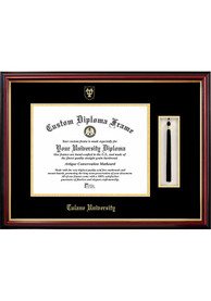 Tulane Green Wave Tassel Box Diploma Picture Frame