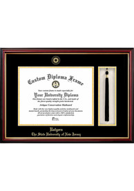 Rutgers Scarlet Knights Tassel Box Diploma Picture Frame