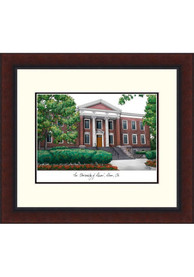Akron Zips Legacy Campus Lithograph Wall Art