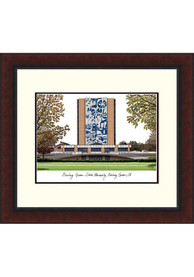 Bowling Green Falcons Legacy Campus Lithograph Wall Art