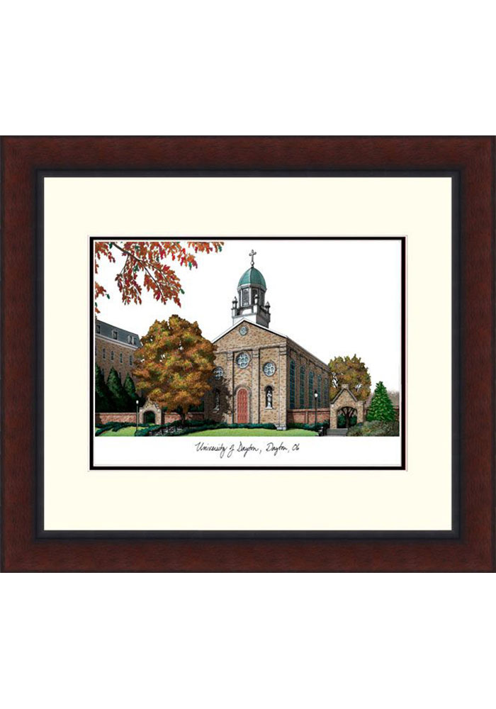 Dayton Flyers Legacy Campus Lithograph Wall Art - Image 1