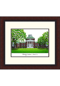Delaware Fightin' Blue Hens Legacy Campus Lithograph Wall Art