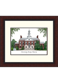 Eastern Kentucky Colonels Legacy Campus Lithograph Wall Art