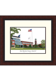 Grand Valley State Lakers Legacy Campus Lithograph Wall Art