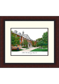Illinois State Redbirds Legacy Campus Lithograph Wall Art