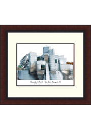 Minnesota Golden Gophers Legacy Campus Lithograph Wall Art