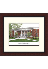 Murray State Racers Legacy Campus Lithograph Wall Art