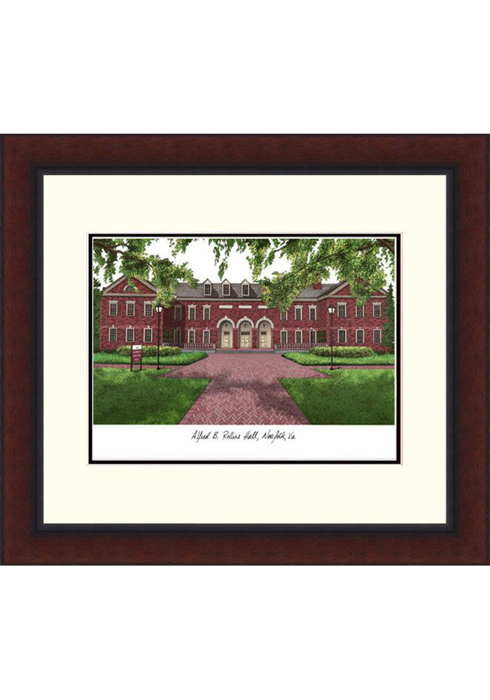 Old Dominion Monarchs Legacy Campus Lithograph Wall Art - Image 1