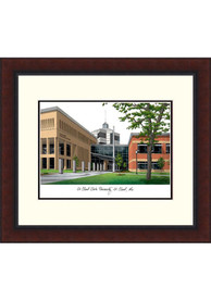 St Cloud State Huskies Legacy Campus Lithograph Wall Art