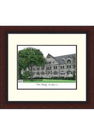 Tulane Green Wave Legacy Campus Lithograph Wall Art