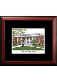 Murray State Racers Black Matted Campus Lithograph Wall Art