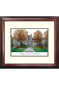 Central Missouri Mules Campus Lithograph Wall Art