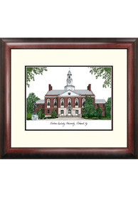Eastern Kentucky Colonels Campus Lithograph Wall Art