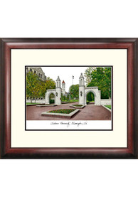 Indiana Hoosiers Campus Lithograph Wall Art
