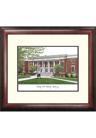 Murray State Racers Campus Lithograph Wall Art
