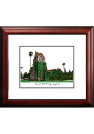 San Jose State Spartans Campus Lithograph Wall Art