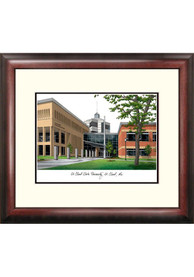 St Cloud State Huskies Campus Lithograph Wall Art