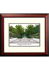 South Florida Bulls Campus Lithograph Wall Art