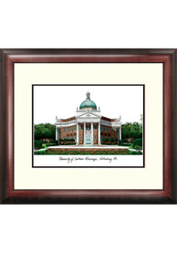 Southern Mississippi Golden Eagles Campus Lithograph Wall Art